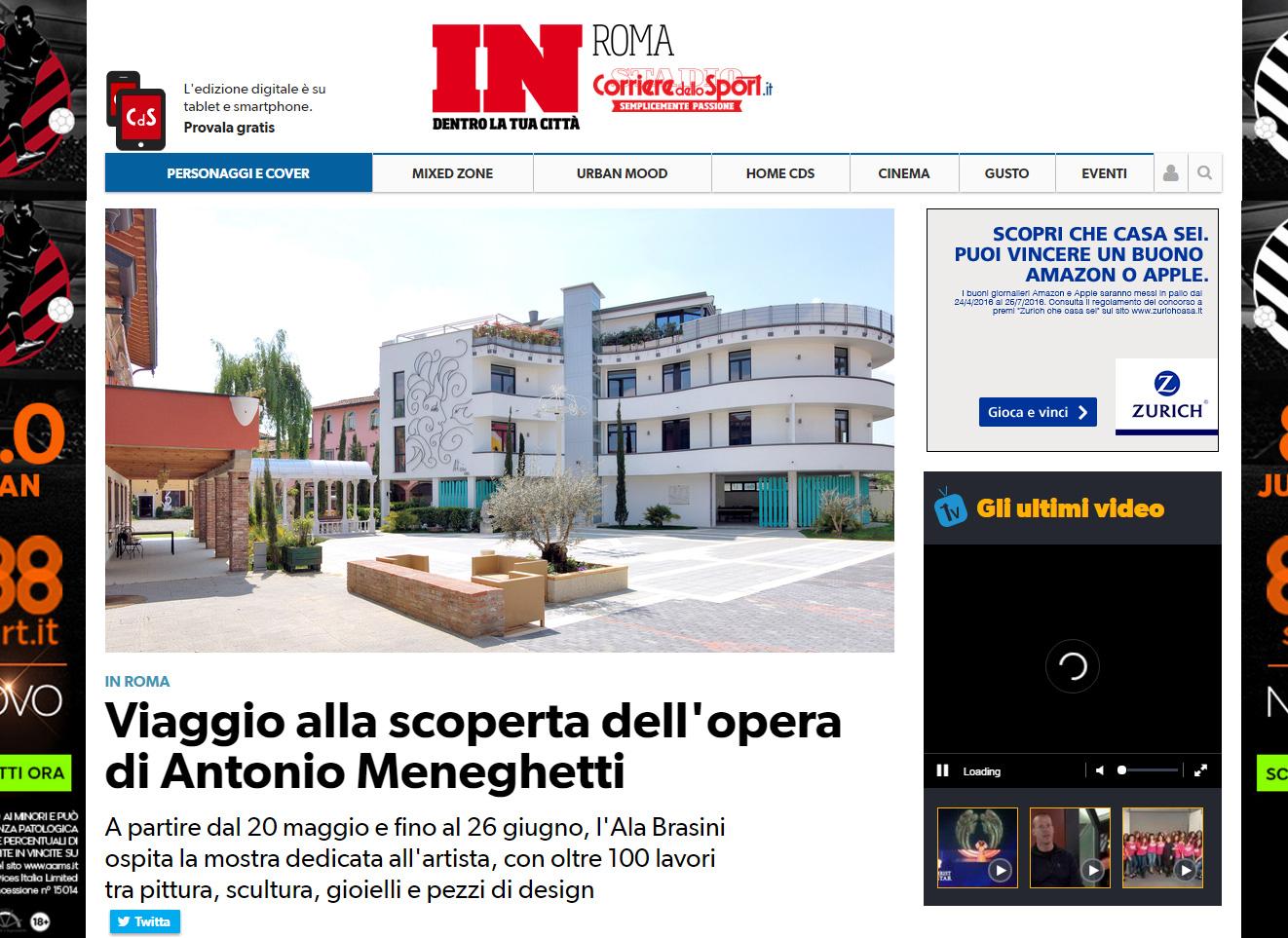 CORRIERE DELLO SPORT - IN ROMA