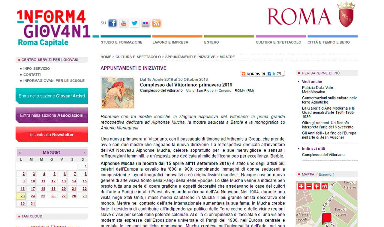 informa giovani roma capitale