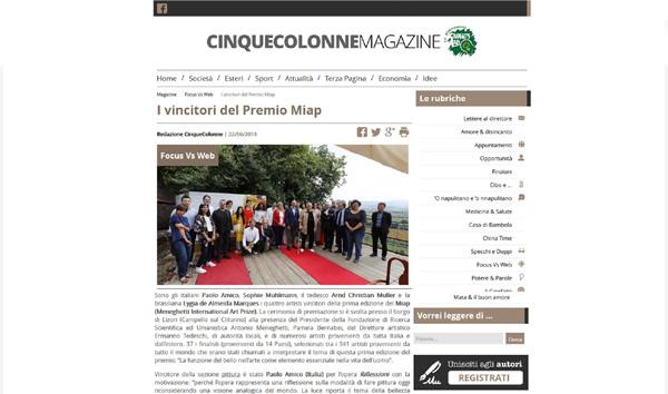CINQUECOLONNE MAGAZINE